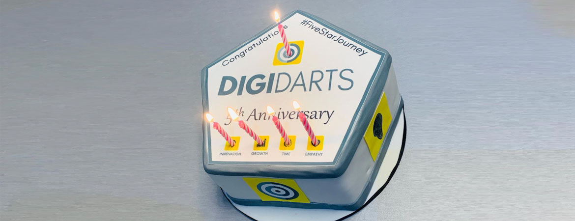 DigiDarts celebrates